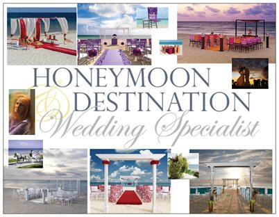 Destination Wedding and Honeymoon Specialist PJ